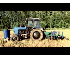 Культиватор для полосовой обработки почвы,