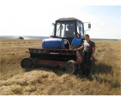 Устройство для утилизации незерновой части урожая