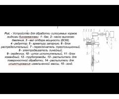 Технические средства приготовления силосованных кормов с внесением биоконсервантов в условиях КФХ
